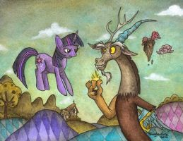 Discord's World by Jungle-Fire