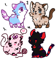 .cat adopt small batch 3. (.:closed:.) by Adopt-galaxy