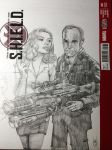 Agents of Shield  Agent Carter sketch coverash up by FWACATA