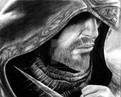 Ezio Auditore by LoveLikePoetry1