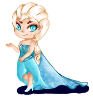 Elsa by Ninfheus