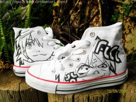 FLCL shoes by OpaliChan