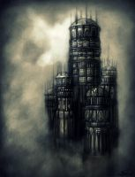 The Black Citadel by Felt-heart