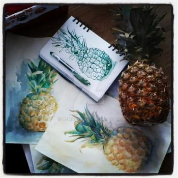pineapple by bemain
