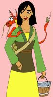 Mulan -color- by fanchielover15