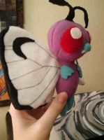 Butterfree Plush by Vulpes-Canis
