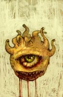 Behold - A beholder by zyphryus
