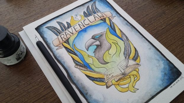 Ravenclaw Crest by CodePepper