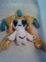 Jirachi (after paint) by EpicCatLover
