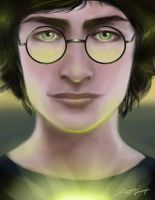 Harry Potter Green by zac1526
