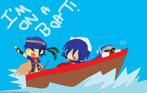 .:I'M ON A BOAT:. by Death-Note-Ninja02