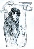 Snape with potion by Hillary-CW