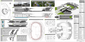Project of Stadium Reconstruction by MageIIan