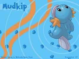 My Little Mudkip by brainsister