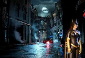 Batgirl in Gotham by delphibyproxy