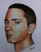 Rap God Eminem by laart39