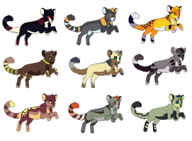 Feline Adopts 1 OPEN by Novak-Adopts