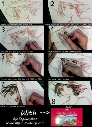 Colored pencils tutorial