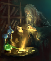 Old Alchemist by WindCyclone
