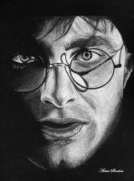 Portrait of Harry Potter by Artist-Shadow