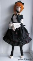 Classic Lolita inspired BJD outfit by CountessAudronasha
