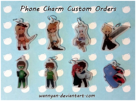 Phone Charm Customs [7] by WanNyan