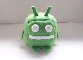 Android Cube Plushie by JeffSproul