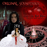 Under the Red Moon CD Front Cover by EmpressTerra