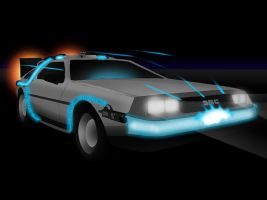 The DeLorean Mk I by Rootay