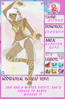 PKMNDS: Aithne +INFO by Ayaka-Woulfe