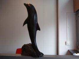 Woodcarver Dolphin by woodcarve