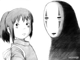 Spirited Away by koronaXIII