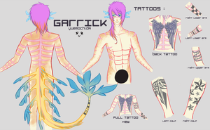 TATTOOS AND MARKINGS by shoucchi