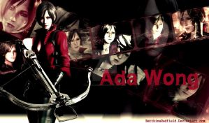 Ada Wong - Resident Evil 6 - Wallp. by BetthinaRedfield