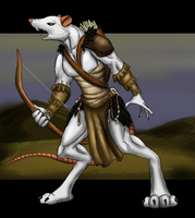 Rat Warrior by Cryophase