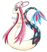 Milotic by CarrieJCole