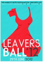 Leavers Ball poster design - Fem by JSWoodhams