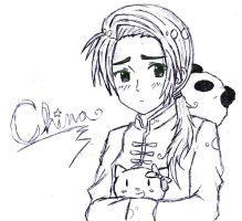 APH: China Sketch by Tabbycat98