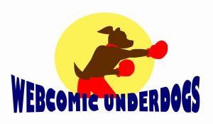 Webcomic Underdogs Logo Contest Entry by melaphyre