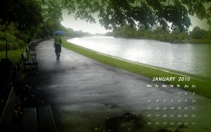 January Wallpaper 2010 by Sumidha