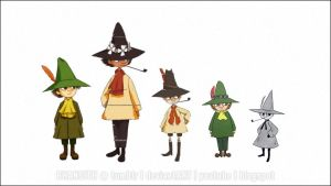 Bunch of Snufkins by Bhansith