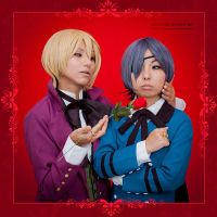 One Rose for you, Ciel::::::: by Witchiko