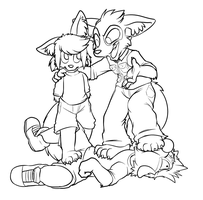 Fluffy Fatherly Feet Fill Faces by c0nker