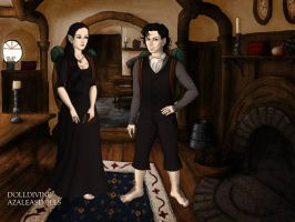 Laughing Jack and Laughing Lucy (in the Hobbit) by TeamRocketJewels