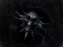 Skull 1:40 h Speed Painting by La-SaGnE