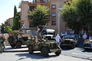 Armerican GI and vehicles of 1944 by A1Z2E3R
