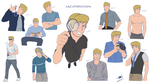 Fred Jones Doodles 2.0 by LazyPerfection