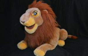 The Lion King - Adult Simba puppet - 1994 by fullmoonlupin