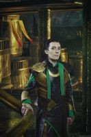 Loki in Asgard by TheIdeaFix