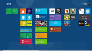 Blue Gol for Windows 8 WDP by cdan007